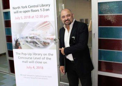 Danny DeSantis - Toronto Entrepreneur and Investor - Library Event